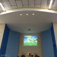 Photo taken at Igreja Sagrado Coração de Jesus by Malu D. on 11/10/2014