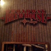 Photo taken at Broadway Brewhouse by Steven O. on 10/13/2012