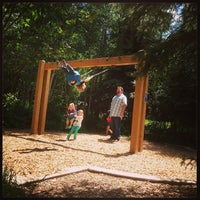 Photo taken at Pirate Ship Playground by Nicholas P. on 7/22/2013