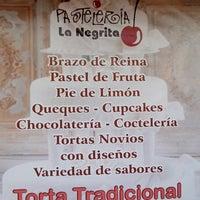 Photo taken at Pastelería La Negrita by Ricardo L. on 11/18/2013