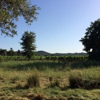 Photo taken at Medlock Ames Tasting Room by Jonathan S. on 6/9/2014