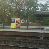 Photo taken at Metro North - Noroton Heights Train Station by Anna G. on 6/6/2015