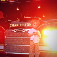 Photo taken at Charleston Fire Station 15 by Jimmy P. on 11/17/2013