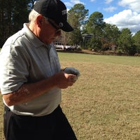 Photo taken at Carolina National Golf Club by Jeanne L. on 11/16/2013
