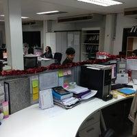 Photo taken at บริษัท ซิสเต็มฟอร์ม จำกัด (System Form Co., Ltd) by Bank Badboyz P. on 12/27/2012