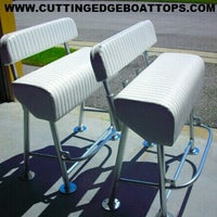 Photo taken at Cutting Edge Boat Tops by Carlos S. on 4/11/2013