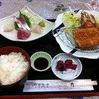 Photo taken at お食事処 秀 by zero x-7 on 8/31/2013