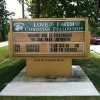 Photo taken at Love and Faith Christian Fellowship by Mark B. on 9/18/2013