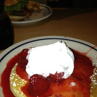 Photo taken at IHOP by Just Q. on 3/3/2013