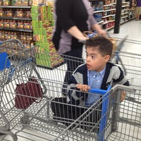 Photo taken at Walmart Supercenter by Just Q. on 3/31/2013