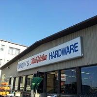 Photo taken at Drew's True Value Hardware by Robert M. on 10/22/2012