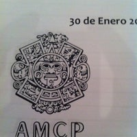 Снимок сделан в Asociación Mexicana de Contadores Públicos пользователем Victor S. 1/30/2014