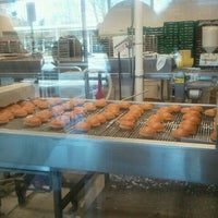 Photo taken at Krispy Kreme Doughnuts by Troy G. on 2/10/2013