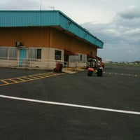 Photo taken at Fernando Luis Ribas Dominicci Airport (SIG) by Amy G. on 10/25/2012