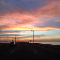 Photo taken at Howard Frankland Bridge by Darrell L. on 1/13/2013