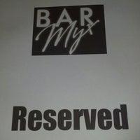 Photo taken at Bar Myx by Danielle O. on 9/23/2012