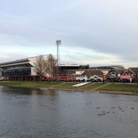 Photo taken at The City Ground by Richard E. on 1/12/2013