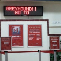 Photo taken at Greyhound Bus Lines by Michael M. on 4/3/2013