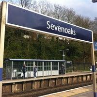 Photo taken at Sevenoaks Railway Station (SEV) by Olya C. on 4/28/2013