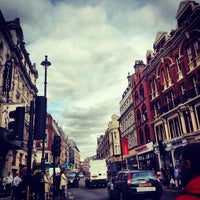 Photo taken at Shaftesbury Avenue by Yammie P. on 9/16/2012