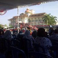 Photo taken at Halaman Kantor Walikota Pangkalpinang by Ken S. on 8/17/2014