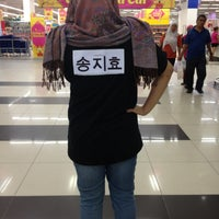 Photo taken at Tesco Hypermarket by Fara Z. on 2/11/2013