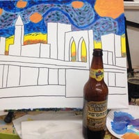 Photo taken at Painting Lounge by Brian K. on 2/8/2014