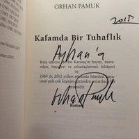 2/7/2015 tarihinde Ayhan Y.ziyaretçi tarafından BKM Kitap Kırtasiye Kafe'de çekilen fotoğraf