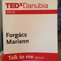 Photo taken at TEDxDanubia@Uránia by 😎 Mariann F. on 3/22/2013