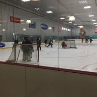 Photo taken at Bell Sensplex by A7med on 5/10/2017