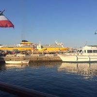 Photo taken at Golfo Aranci by Boban T. on 7/17/2014