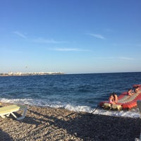 Photo taken at Aras Beach by Muhammed O. on 9/24/2017