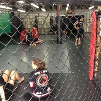 Photo taken at The Jungle MMA & Fitness by Matt B. on 11/10/2012