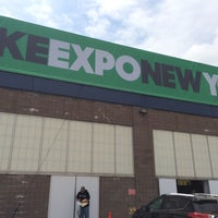 Photo taken at Bike Expo New York- Pier 36 by Alan S. on 5/1/2015
