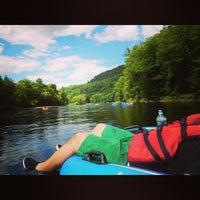 Photo taken at Adirondack Tubing Adventures by Kash K. on 7/12/2014