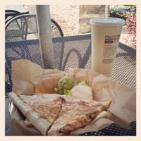 Photo taken at Qdoba Mexican Grill by Meghan R. on 4/24/2013
