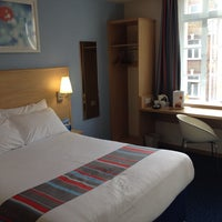 Photo taken at Travelodge London Central City Road by Craig C. on 2/25/2014