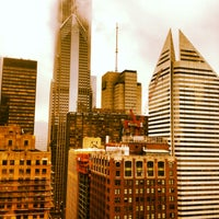 Photo taken at ROOF on theWit by Gurney P. on 4/11/2013