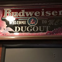 Photo taken at MC's Dugout Bar & Grill by Rob B. on 6/29/2017