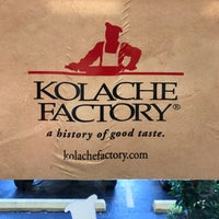 Photo taken at Kolache Factory by Rob B. on 5/21/2017