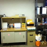 Photo taken at Mail Room by Laura P. on 10/19/2012
