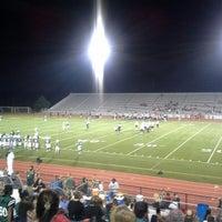 Photo taken at LaFortune Stadium by Kara C. on 10/5/2013