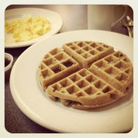 Photo taken at Omelette & Waffle Café by Alicia D. on 10/14/2012