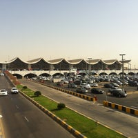 Photo taken at King Abdulaziz International Airport (JED) by Utkan G. on 5/1/2013