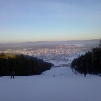Foto tomada en ГЛК Гора Пильная por Roman Y. el 2/17/2013