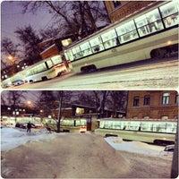 Photo taken at Baumanskaya Street by Dima B. on 1/18/2013