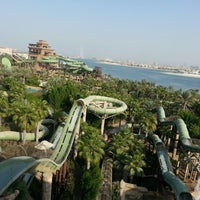Photo taken at Aquaventure Waterpark by Dima B. on 11/2/2013