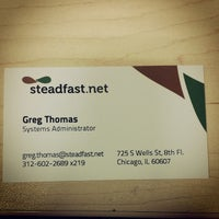 Photo taken at Steadfast Networks by Gregorie T. on 3/20/2014