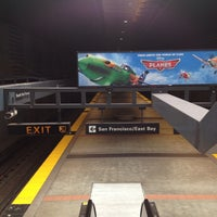 Photo taken at South San Francisco BART Parking by Leandro Angel S. on 9/15/2013