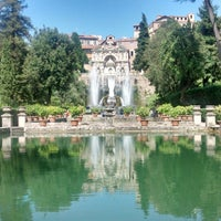 Photo taken at Villa d'Este by John H. on 7/11/2014